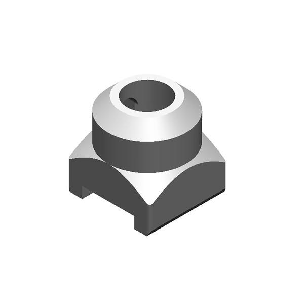 旋挖钻配件 FZH72 旋挖截齿座用于连续墙、螺旋钻、捞沙斗、筒钻