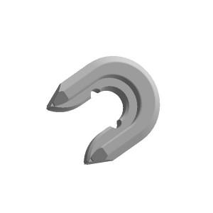 旋挖钻配件 SH35全套管套管靴焊接齿靴用于宝峨旋挖钻