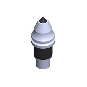 旋挖钻配件 B47K17.5-H 旋挖截齿用于连续墙、螺旋钻、捞沙斗、筒钻