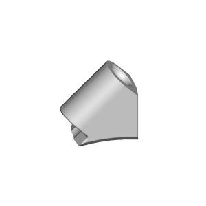 旋挖钻配件 C30 旋挖截齿靴用于连续墙、螺旋钻、捞沙斗、筒钻