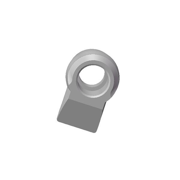 旋挖钻配件 C30H-U40H旋挖截齿座用于连续墙、螺旋钻、捞沙斗、筒钻