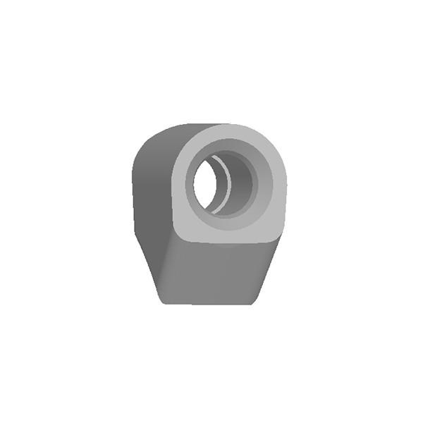 旋挖钻配件 DV9旋挖截齿座用于连续墙、螺旋钻、捞沙斗、筒钻