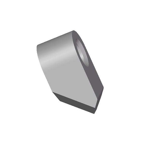 开沟机配件CMB4挖沟齿座用于盘式开沟机